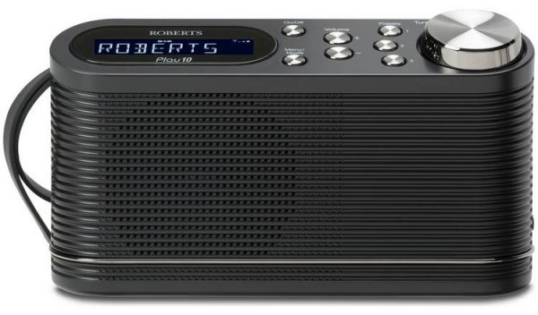 Roberts PLAY DAB Radio in Black