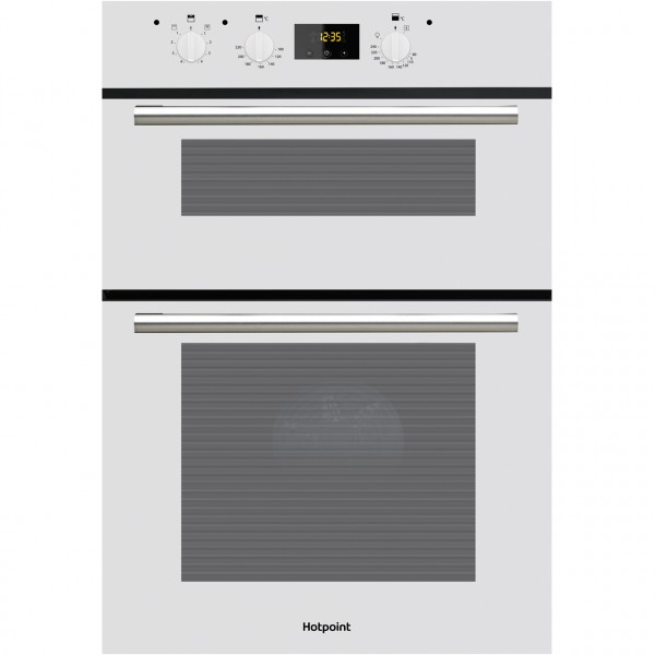 Hotpoint DD2540WH Built in White double oven