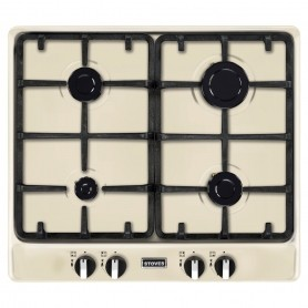 Stoves ST RICH 600GH Richmond gas hob in Cream