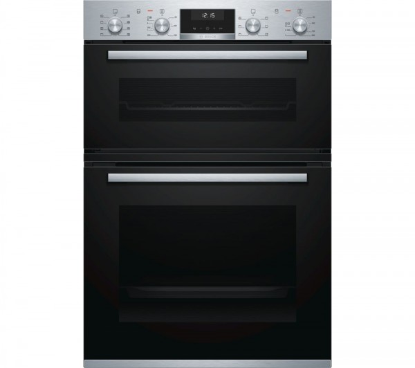 Bosch MBA5350S0B Built-in brushed steel double oven