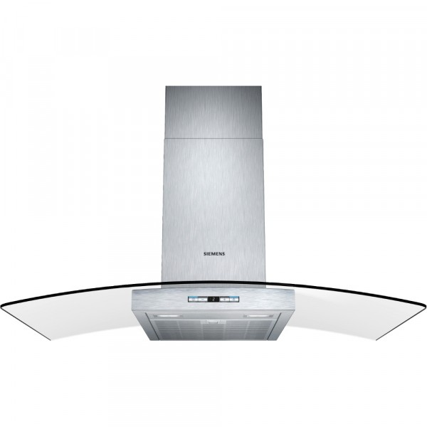 Siemens LC98GB542B Curved Glass Cooker hood in Stainless Steel