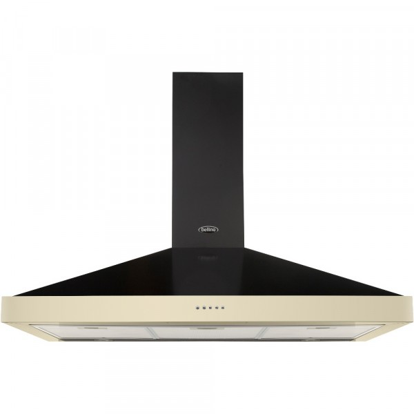 Belling Classic 90cm Chimney MK2 Hood in Cream (444443582)