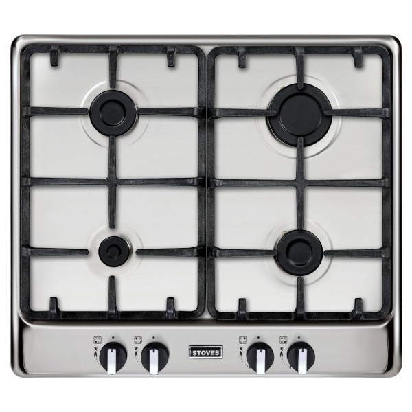 Stoves ST RICH 600GH Richmond gas hob in Stainless Steel