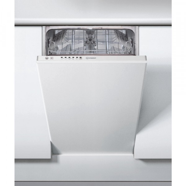 Indesit DSIE2B10 Slimline Built-in Dishwasher