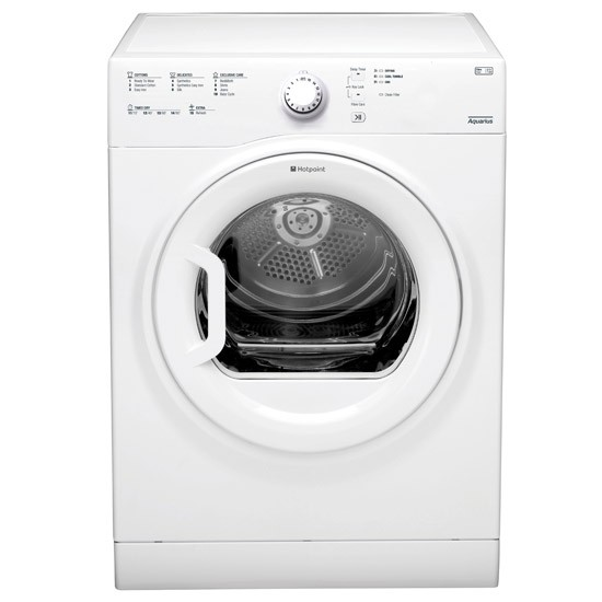 Hotpoint TVFS83CGP9 8Kg Vented Tumble Dryer