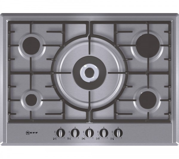 Neff T25S56NOGB 70cm Gas hob in Stainless Steel