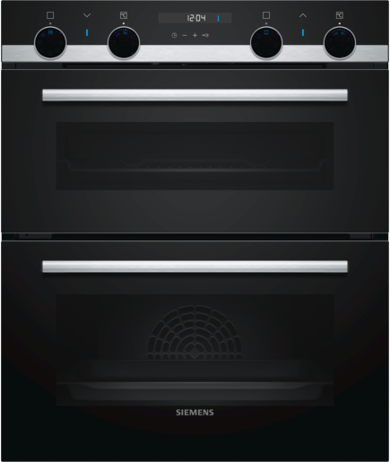Siemens NB535ABS0B Built under Black double oven