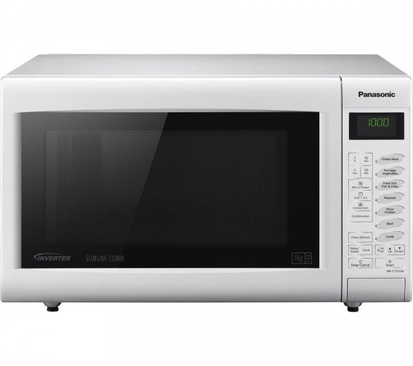 Panasonic NN-CT555WBPQ White microwave Oven and Gril