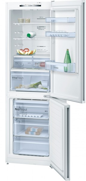 Bosch KGN36VW35G No Frost Fridge Freezer in White