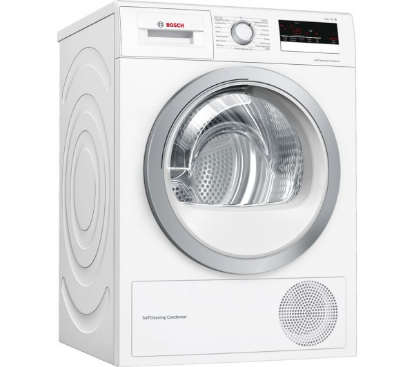 Bosch WTW85231GB 8Kg Heat Pump Condenser Dryer
