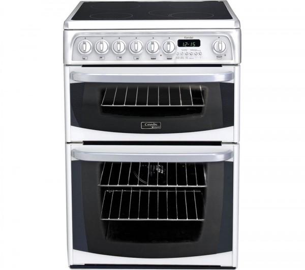 Cannon CH60EKWS Kendal Electric Cooker In White