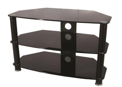 Vivanco 26061 Black Glass Stand