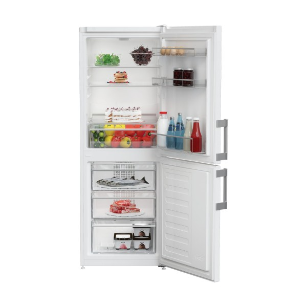 Blomberg KGM4530 55cm Frost Free Fridge Freezer in White
