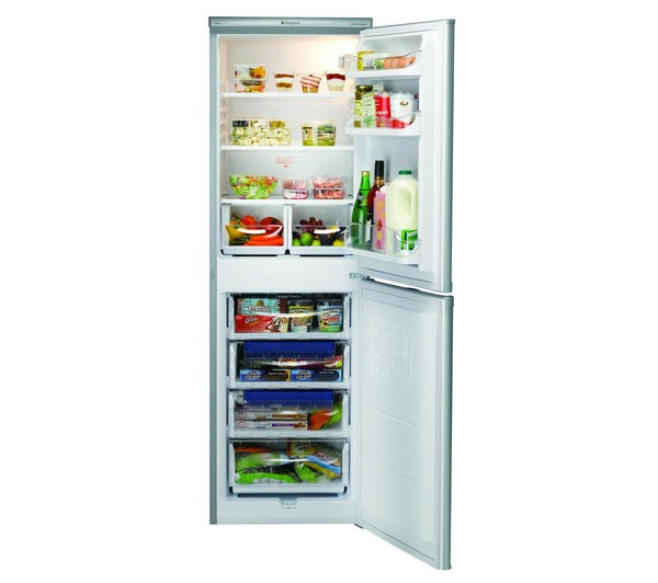 Hotpoint RFAA52S 55cm Fridge freezer in Silver