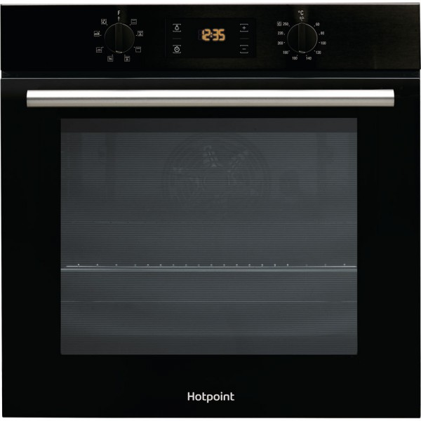 Hotpoint SA2540HBL Built in Black Single oven