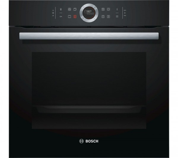Bosch HBG674BB1B Integrated Single oven in Black