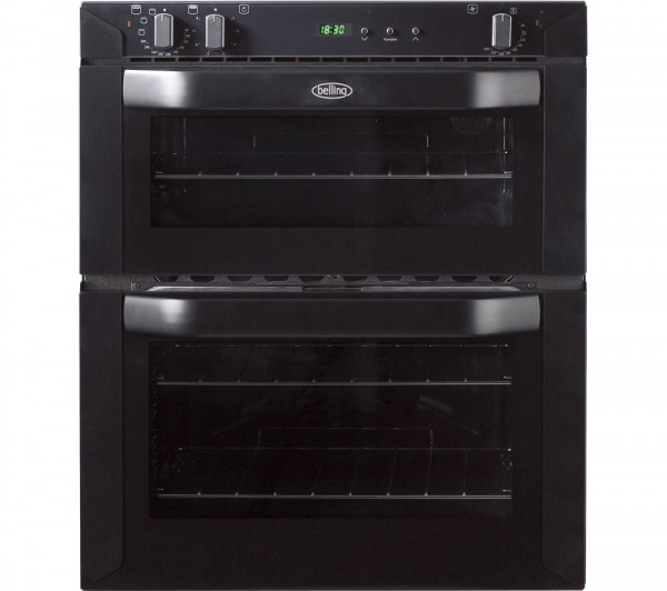 Belling BI70FP Built Under electric Double Oven in Black