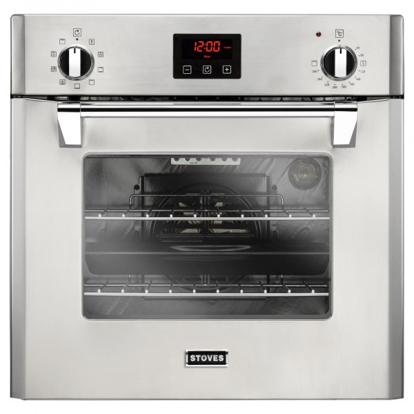 Stoves ST RICH 600MF 60cm Single Oven in Stainless Steel