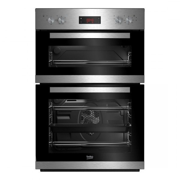 Beko CDF22309X Built in Electric Double Oven in Stainless Steel