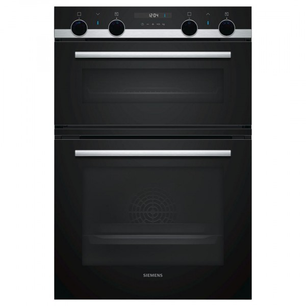 Siemens MB535A0S0B Integrated Double oven in Black