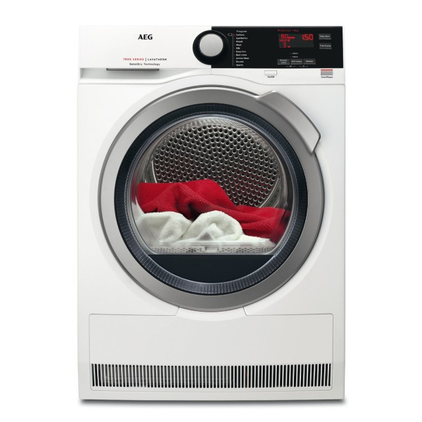 Aeg T7DEE832R 8kg Heat Pump Condenser dryer