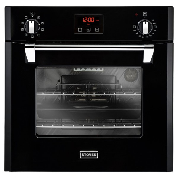 Stoves ST RICH 600MF 60cm Single Oven in Black
