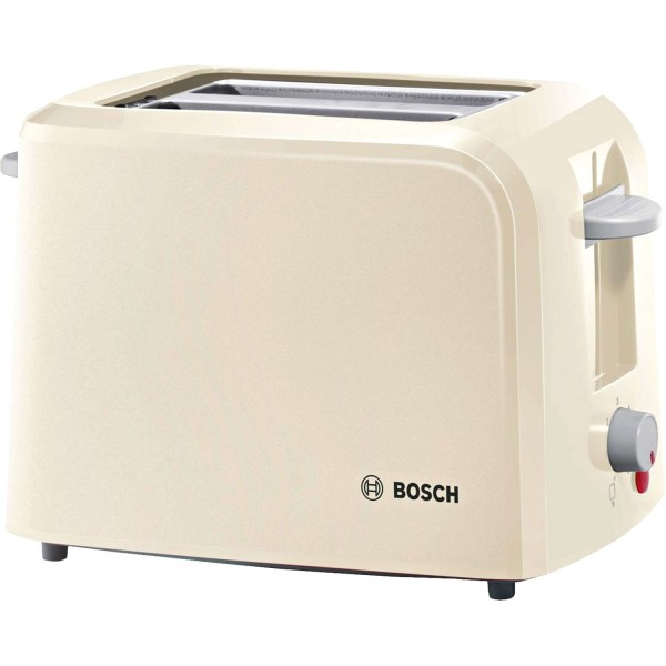 Bosch TAT3A017GB Cream 2 slice toaster
