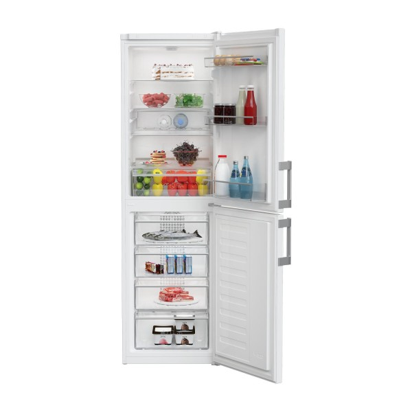 Blomberg KGM4550 55cm Frost Free Fridge Freezer in White