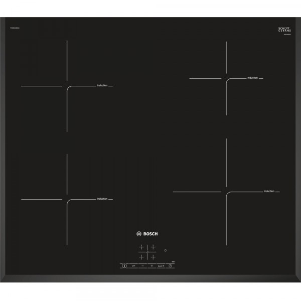 Bosch PIE651BB1E Induction Hob in Black