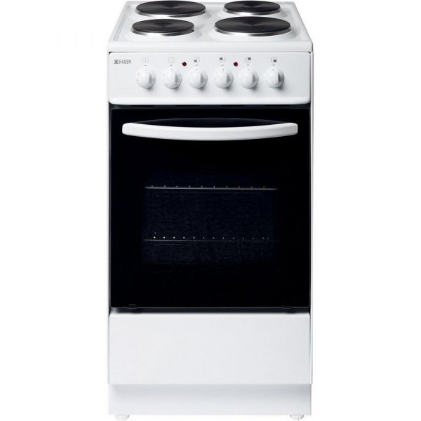 Haden HES50W 50cm Single Cooker