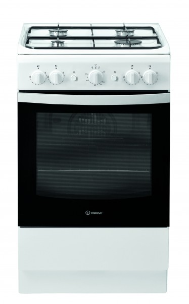 Indesit IS5G1KMW 50cm White Single oven Cooker