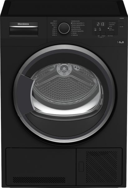 Blomberg LTK2803B 8 kg Condenser Dryer in Black