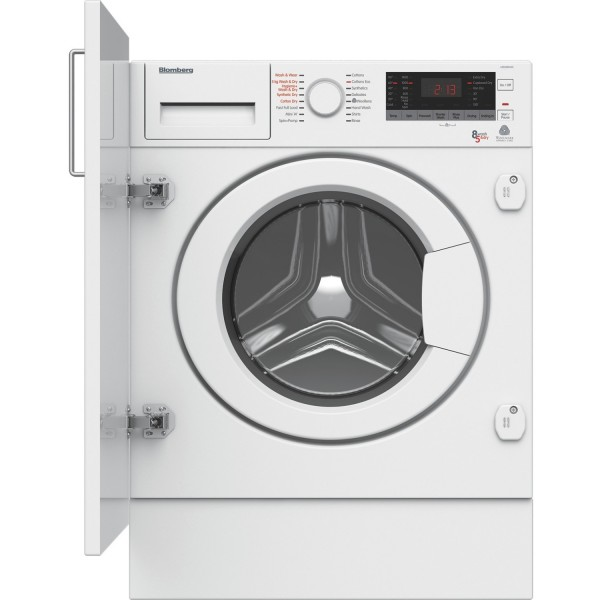 Blomberg LRI285410W Built-in 1400 Spin 8kg Washer Dryer