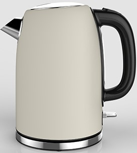 Linsar JK115CREAM 1.7 Litre Cream Electric Kettle