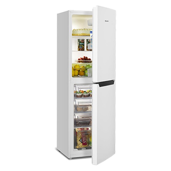 Hisense RB325D4AW1 Fridge freezer in White