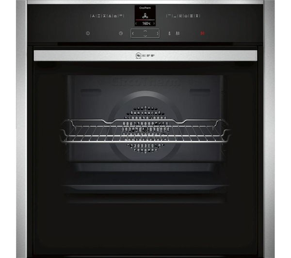 Neff B57CR22N0B Single Built in oven in Stainless Steel