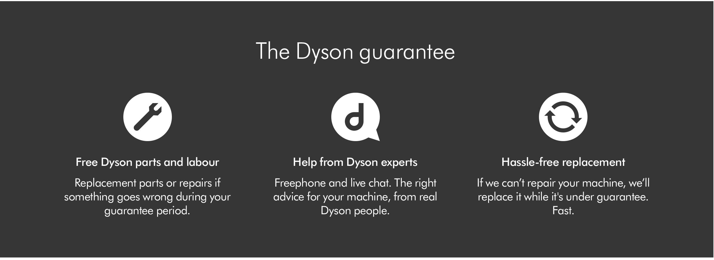 Dyson-Guarantee