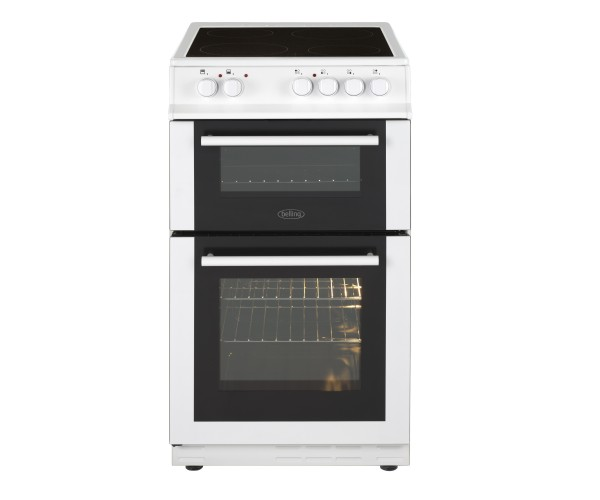 Belling FS50EDOFCWHI 50cm Double Electric Cooker
