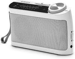 Roberts R9993 Classic Analogue Radio in White
