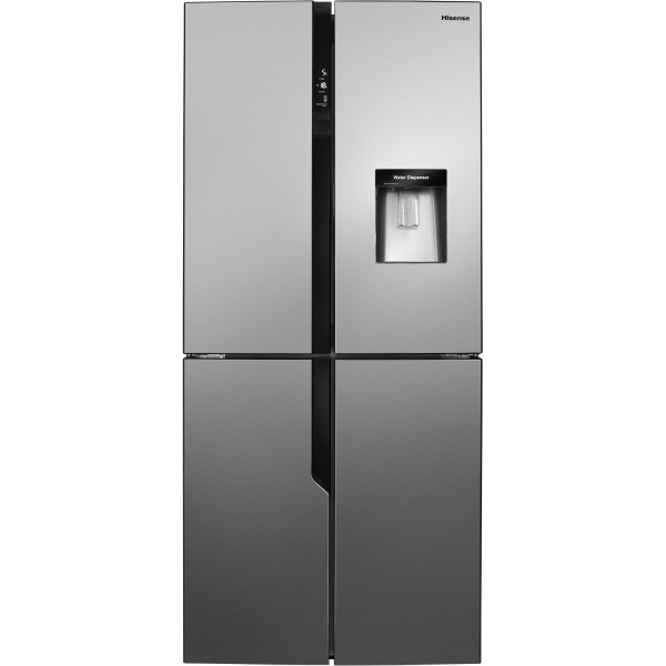 Hisense RQ560N4WC1 Side by side Fridge freezer in Stainless Steel