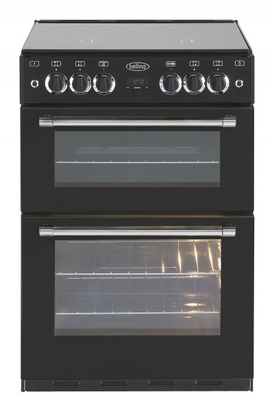 Belling Classic 60G 60cm Gas Cooker in Black