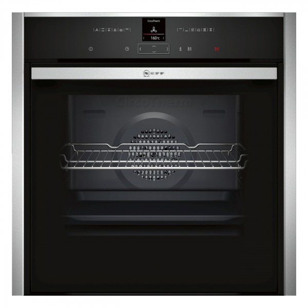 Neff B57CR23N0B Single Built in oven in Stainless Steel