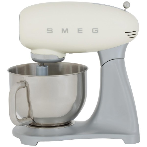 Smeg SMF01CRUK Retro style stand food mixer in Cream