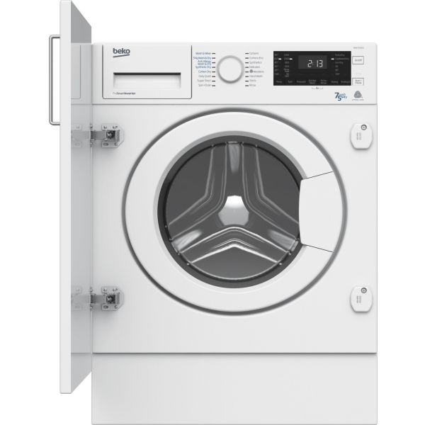 Beko WDIC752300F2 1200 Spin 7kg washer dryer
