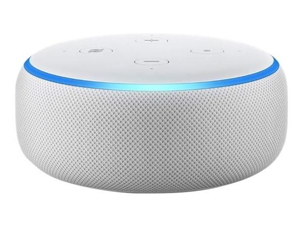 Amazon Echo Dot in Sandstone Fabric