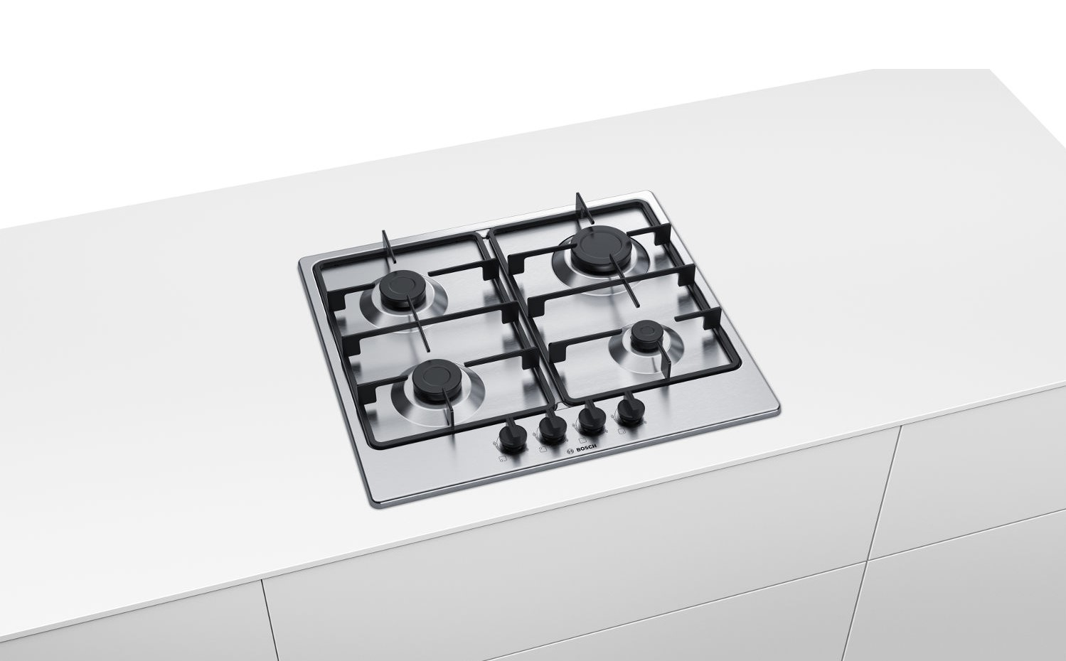 Bosch Pgp6b5b60 Integrated Gas Hob Gas Hobs Built In