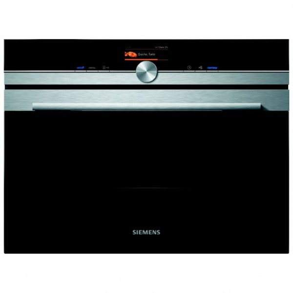Siemens CM676GBS6B Compact oven with microwave