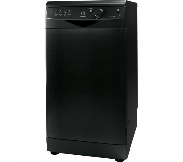 Indesit DSR15B1K Slimline Black dishwasher