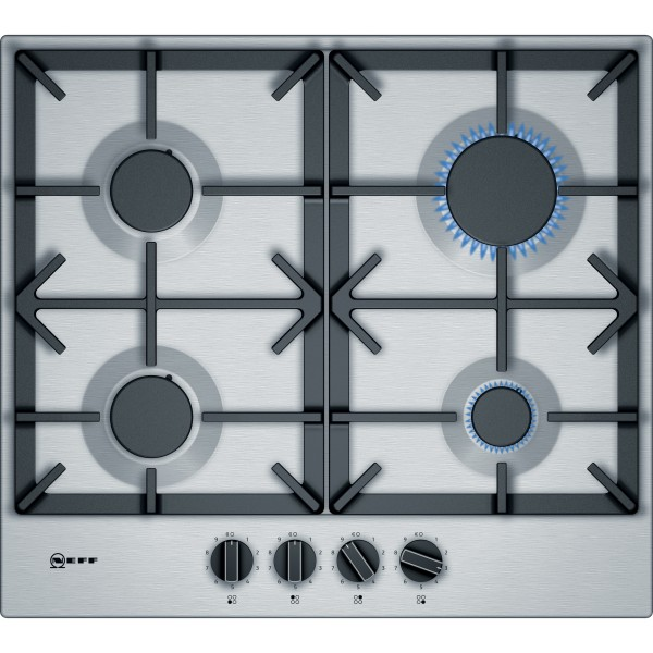 Neff T26DS49NO 60cm Gas hob in Stainless Steel
