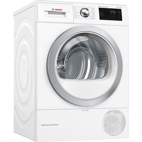 Bosch WTWH7660GB 9Kg Heat Pump Condenser Dryer